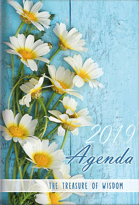 Picture of The Treasure of Wisdom - 2019 Daily Agenda - Daisies