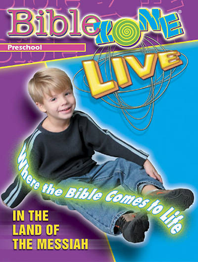 BibleZone Live! Preschool Teacher Bk In the Land of the Messiah