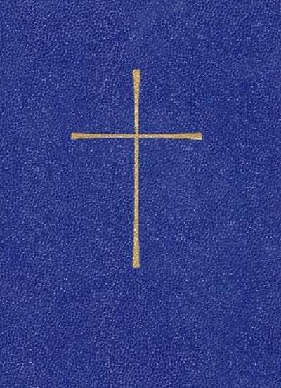 The Book of Common Prayer Personal Edition Blue Leather