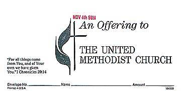 Picture of To United Methodist Church Offering Envelope (Set)