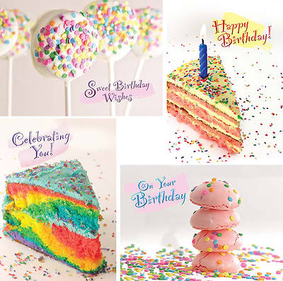 Birthday Sprinkles - Birthday Boxed Cards - Box of 12