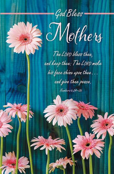 Picture of God Bless Mothers Day Regular Size Bulletin (Pkg of 100)
