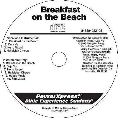PowerXpress Breakfast on the Beach Music CD