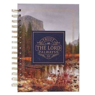 Picture of Large Wire Journal Trust in the Lord Isaiah 26