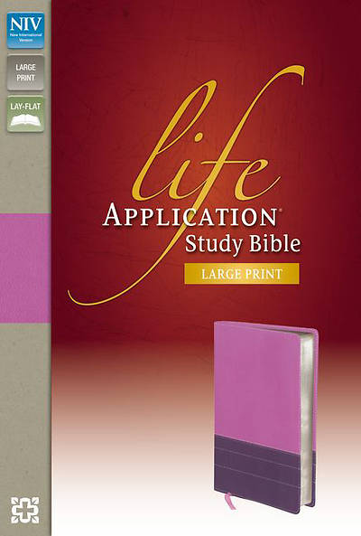 Picture of NIV Life Application Study Bible, Large Print