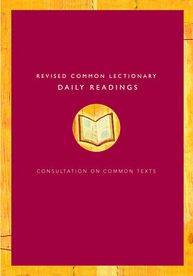 Picture of Revised Common Lectionary Daily Readings