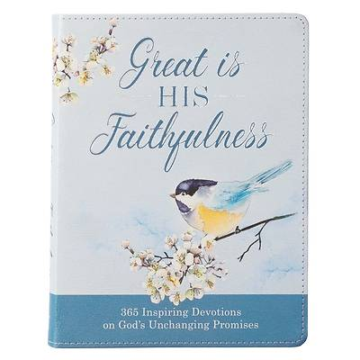 Picture of Great Is His Faithfulness Lux-Leather