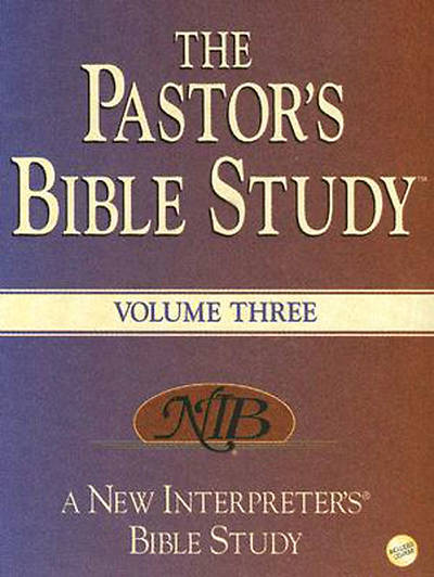 The Pastors Bible Study®  Volume 3
