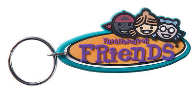 FaithWeaver Friends Key Chain (pkg. 5)