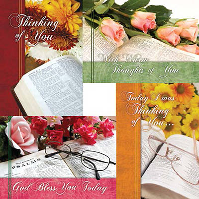 Picture of Thoughts from the Word - Thinking of You Boxed Cards - Box of 12