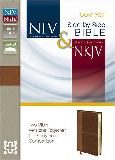 New International Version and New King James Version Side-By-Side Bible, Compact