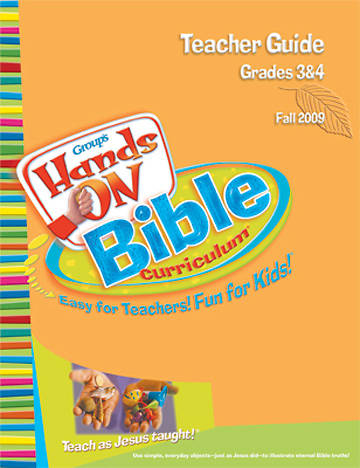 Picture of Group's Hands-On Bible Curriculum Grades 3 and 4 Teacher Guide Spring 2010