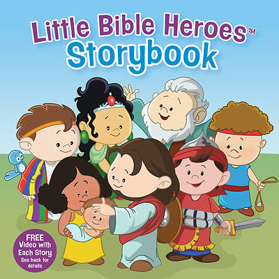 Picture of Little Bible Heroes Storybook (Padded)