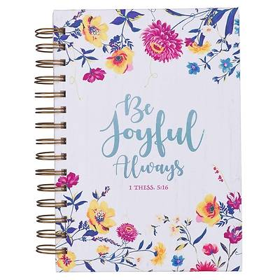 Picture of Journal Wirebound Large Be Joyful