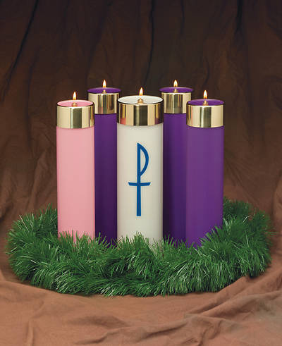 Advent With Christ Candela Set