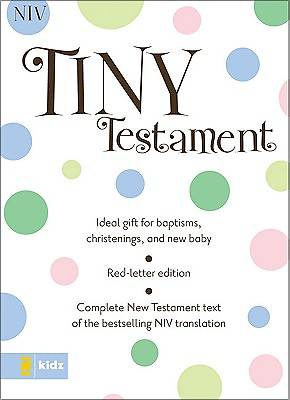 New International Version Tiny New Testament Bible