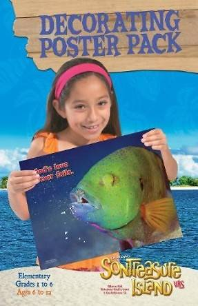 Gospel Light VBS 2014 SonTreaure Island Decorating Poster Pack