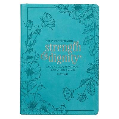 Picture of Journal She Is Clothed in Strength Prov. 31