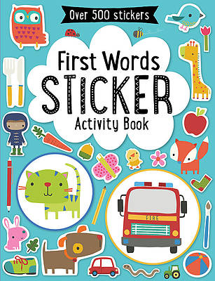 First Words Sticker Book