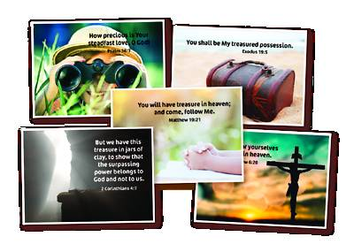 Picture of Vacation Bible School VBS 2021 Memory Verse Posters Set of 5