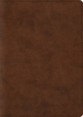 ESV Study Bible, Large Print (Trutone, Brown)