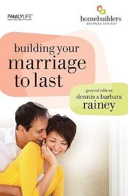 Building Your Marriage to Last