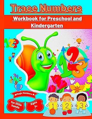 Picture of Trace Numbers Workbook for Preschool and Kindergarten