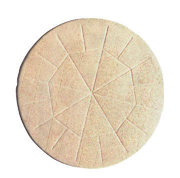 "Large Communion Wafers 5 3/4"" Whole Wheat (Package of 25)"