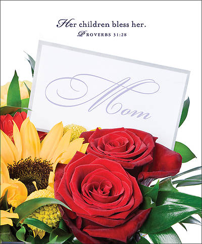 Flowers Mothers Day Bulletin 2014, Large (Package of 50)