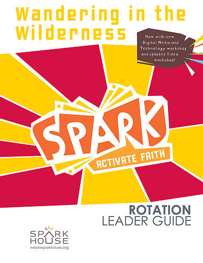 Picture of Spark Rotation  Wandering in the Wilderness  Leader Guide