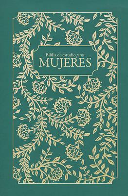 Picture of Rvr 1960 Biblia de Estudio Para Mujeres, Tela Verde