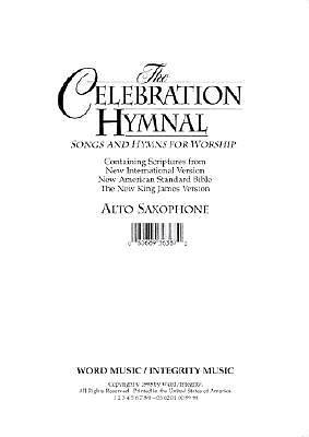 Celebration Hymnal Alto Sax/Melody CD-ROM (PDF)