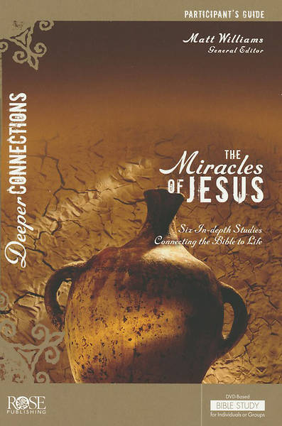 Picture of The Miracles of Jesus Participant Guide