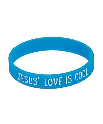 Vacation Bible School (VBS) 2018 Polar Blast Jesus Love is Cool Wristband