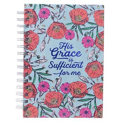 Picture of Large Wire Journal His Grace Is Sufficient 2 Cor. 12