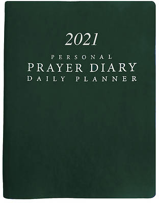 Picture of 2021 Personal Prayer Diary and Daily Planner - Green (Smooth)