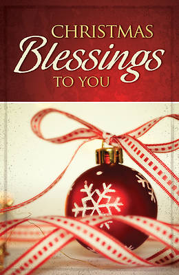 Picture of Christmas Blessings to You (Pkg of 25)