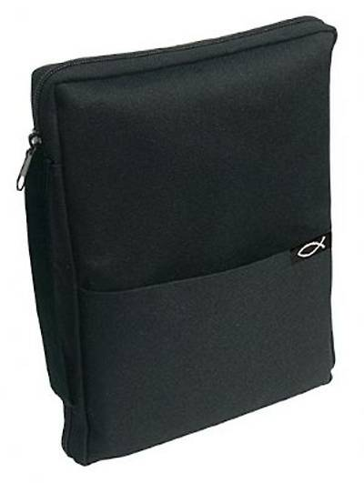 Bible Cover Thinline Black Small