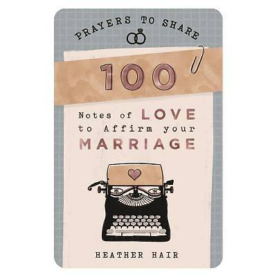 Picture of Prayers to Share 100 Notes to Affirm Your Marriage