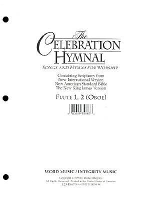 Celebration Hymnal Flute 1&2/Oboe/Melody CD-ROM (PDF)