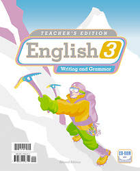 English 3 Teachers Edition and Toolkit CD 2nd Edition