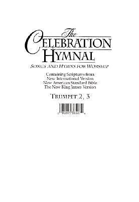 Celebration Hymnal Trumpet 2&3/Melody CD-ROM (PDF)