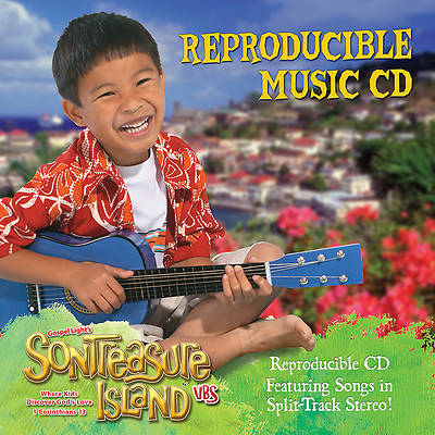 Gospel Light VBS 2014 SonTreasure Island Reproducible Music CD