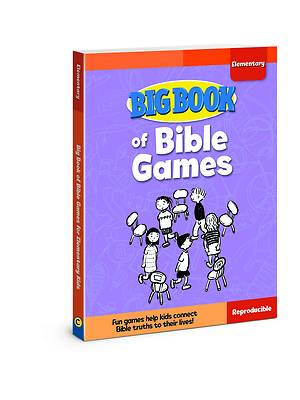 Picture of Big Book of Bible Games for Elementary Kids