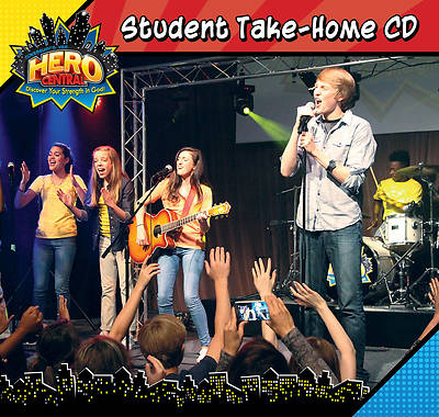 Vacation Bible School VBS Hero Central Student Take-Home CD