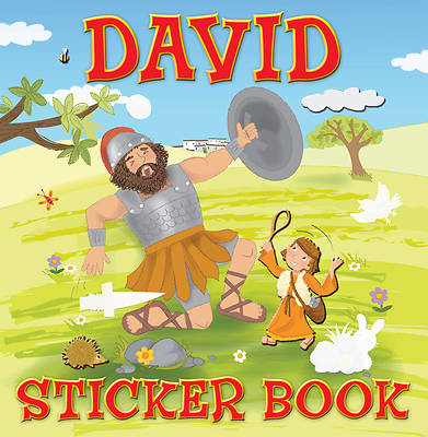 David Sticker Book