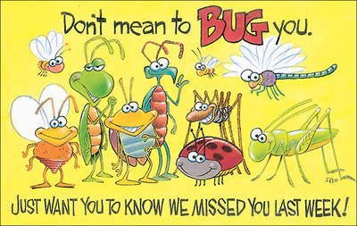 Picture of Bugs Absentee Card