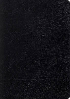 ESV Study Bible, Large Print (Black)