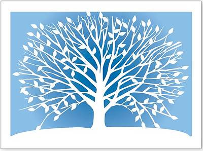 Tree of Life Laser Cut Boxed Note Cards (10 Cards, 11 Envelopes)