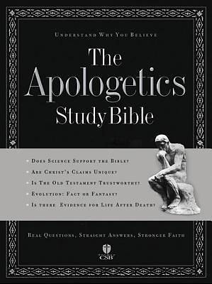 Apologetics Study Bible Holman Christian Standard Bible
